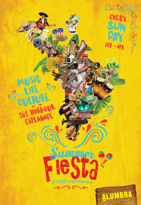 summer fiesta, community event, latin fiesta, fun things to do, entertainment, free event, date night, night life, docklands, fun addicts, tromba, tocksteady, latin cuisine, latin music, shisha