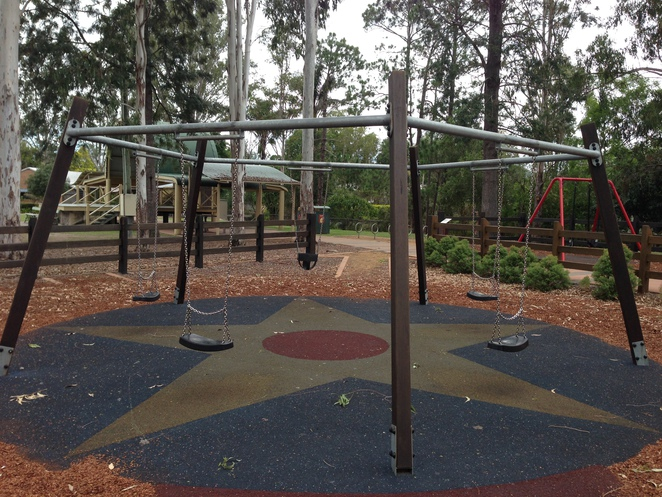 Swing, samford park, samford, play equipment, samford village,