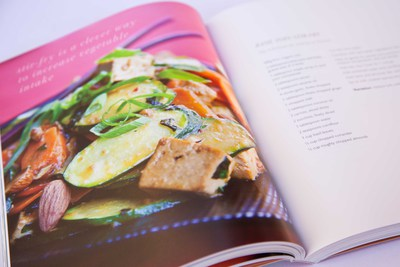 The Art of Nourishing cookbook