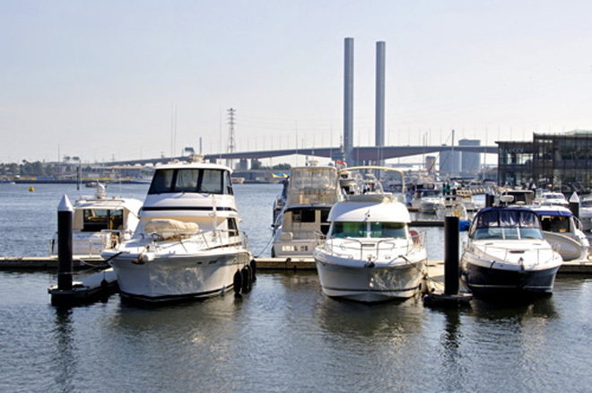 Victoria Melbourne Docklands Boat Boats Boating Pleasure Cruising Waterways Port Phillip Bay