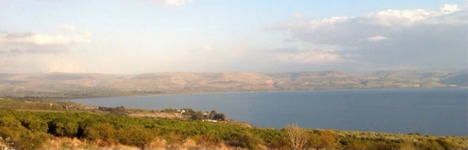 View from Mount of Beatitudes