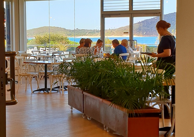 Views, lunch, food, drinks, family, party, waterfront, specials, Fingal Bay, beachfront, Port Stephens