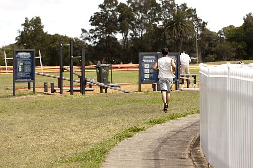 waverly park, waverly park outdoor gym, waverly park free gym
