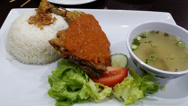 Where's the Best Restaurant on Currie Street?, Pondok Daun,Ayam Penyet, Adelaide