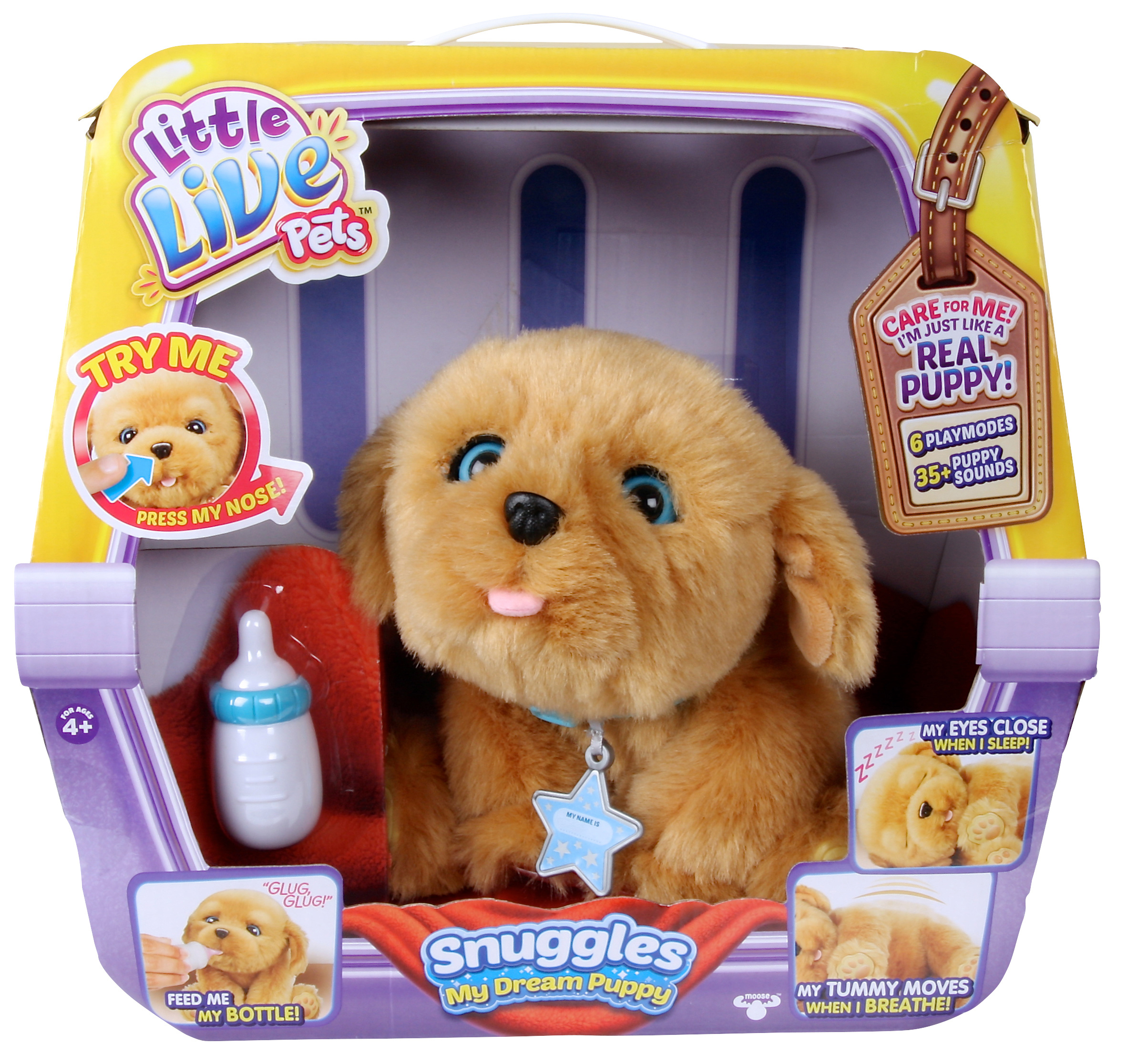 dbda4911dc25 Little Live Pets Snuggles My Dream Puppy - Toy Review - Everywhere
