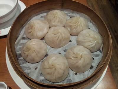 Xiao long bao - steamed pork buns