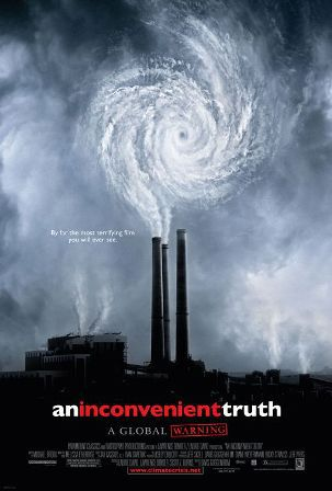 An Inconvenient Truth, weather movies, global warming, climate change, greenhouse gases, Al Gore,