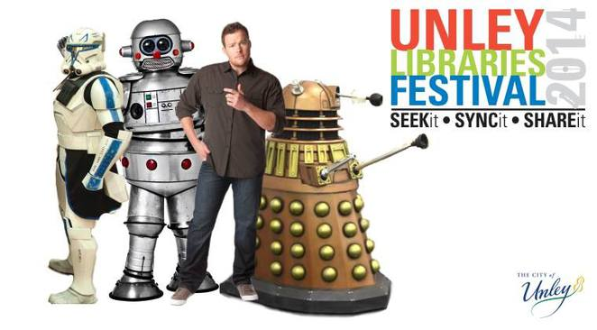 Meet MC Cosi, Star Wars characters, Tubby the Robot and Daleks