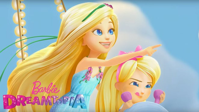 Barbie, Dream, Dreamtopia, Imagine, Imagination, Sky, Clouds, Princess, Doll, Dolls, Chelsea, Movie, Film, Animation