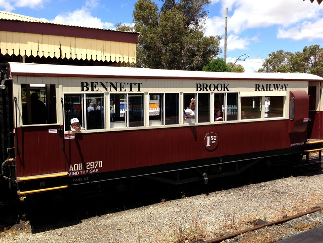 Bennett brook Railway party coach