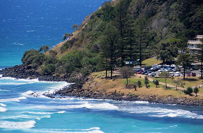 Burleigh Head National Park walk, best Gold Coast beach walk