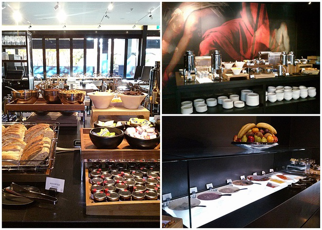 buvette bar and bistro, canberra, barton, hotel realm, breakfast, buffet, petit feast,