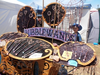 Some of the exotic wares which can be found at the Byron Bay Community Markets.