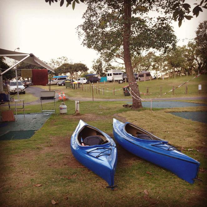 canoe, kayak, recreation, camp, patonga, central coast, campervan holiday, caravan holiday