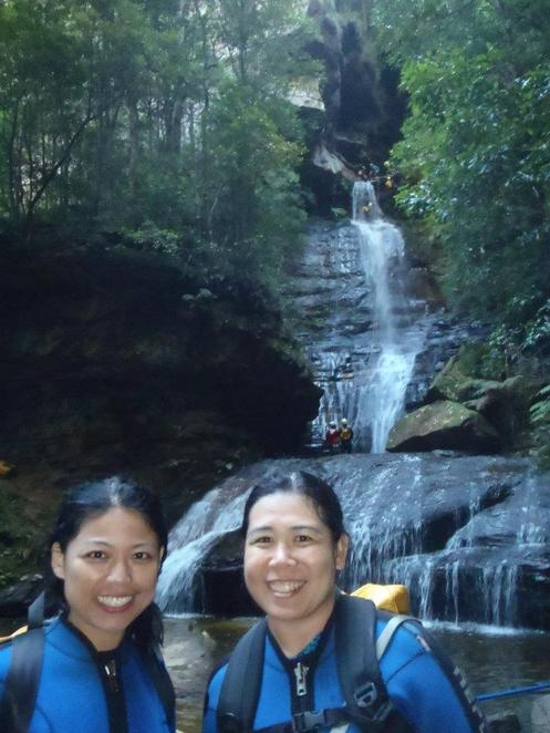 canyoning high and wild blue mountain katoomba empress falls