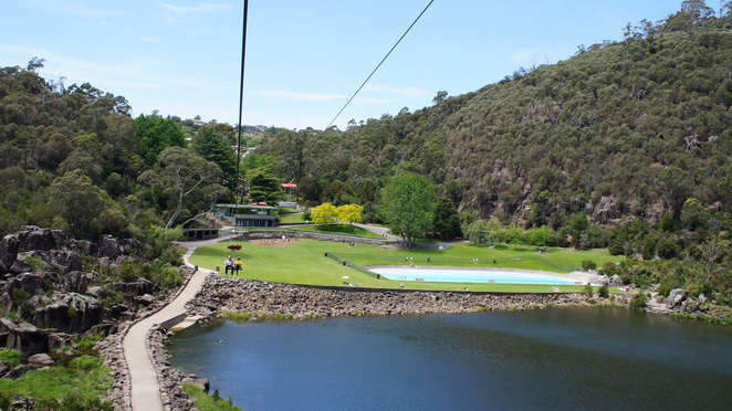 cataract gorge, Tasmania, Launceston, chairlift, family day out