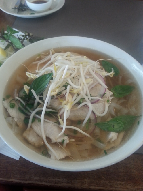 Chicken Pho Soup