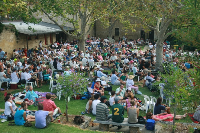 Courtyard Music at Fremantle Arts Centre