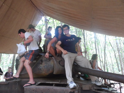 Cu Chi Tunnels, Tanks,Vietnam War,Attractions,Saigon,Ho Chi Minh