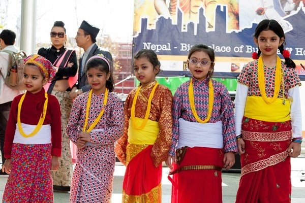 Cultural,activities at,Nepal,Festival