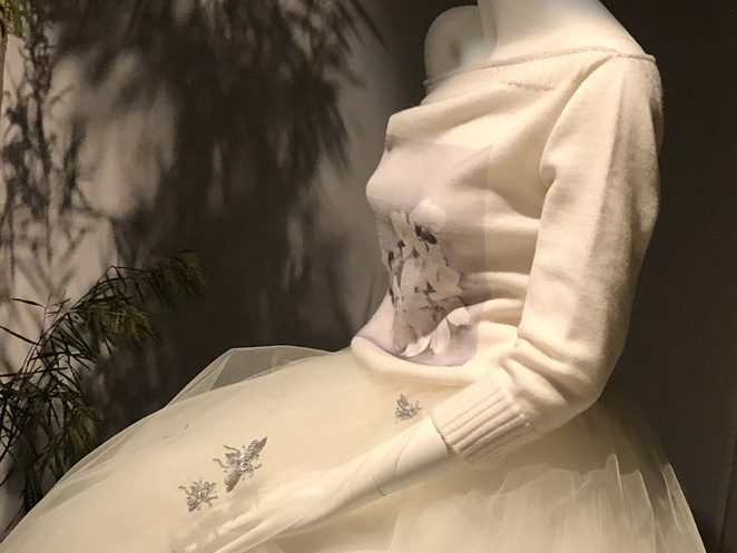 Dreams echoing the memories of time fortyfivedownstairs MFW art floristry fashion design