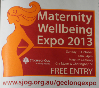Maternity Wellbeing Expo 2013