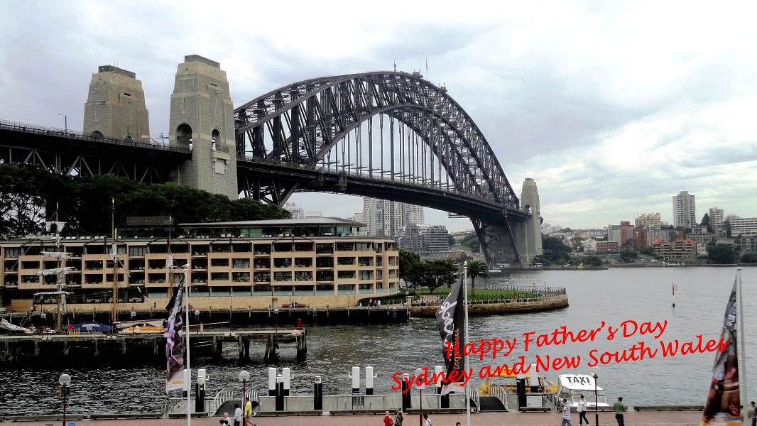 What date is fathers day in Sydney