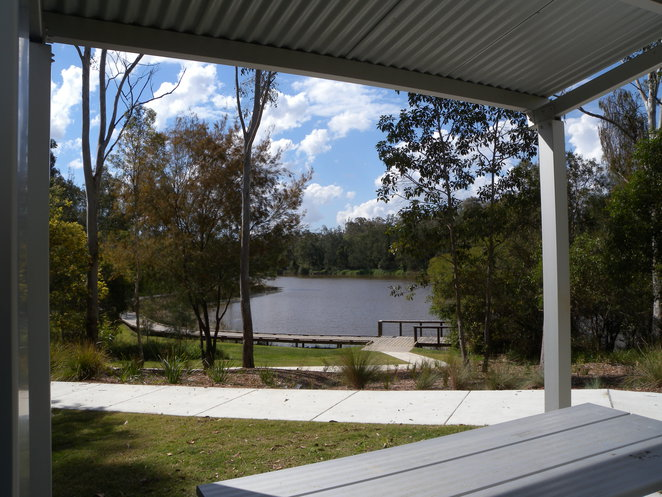 View over Oxley Creek and Boardwalk