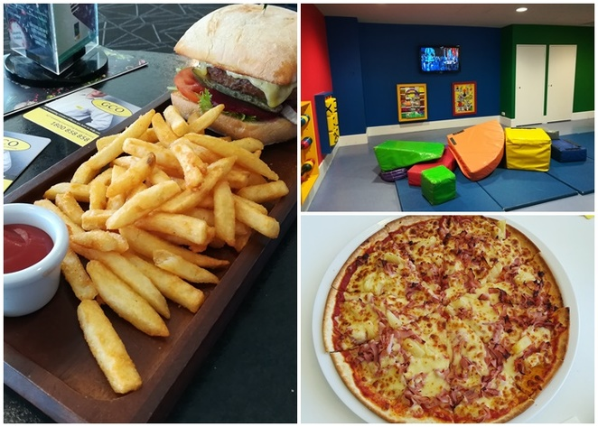 gungahlin lakes club, aroma pizza, family friendly, kids, children, ACT, family friendly dining, dinner, lunch,