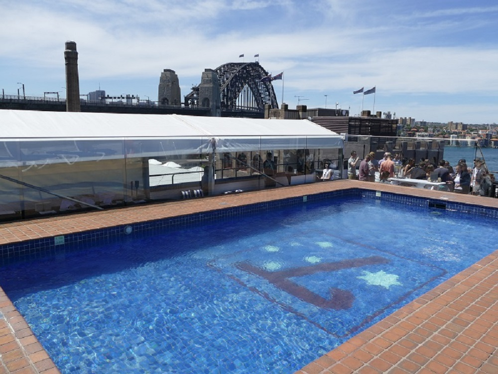 The rocks retail relaxation historical hub sydney for Pool showrooms sydney
