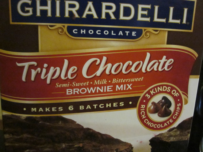 Brownie Mix in a Box
