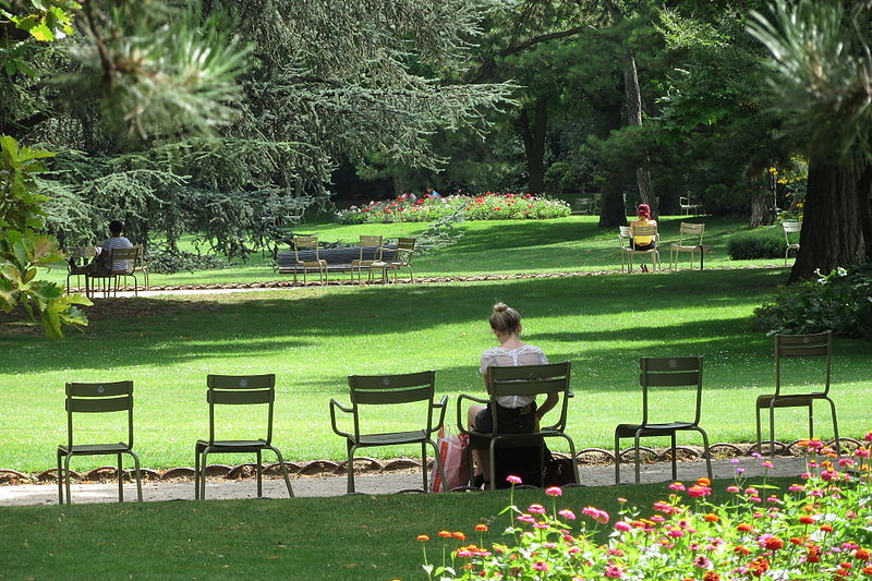 A self guided literary tour of paris paris for Jardin du luxembourg