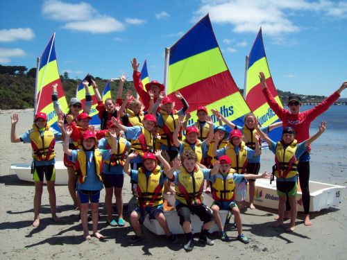 Kids Learn to Sail with Tackers 1