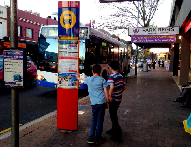 kids teaching learning public transport buses ferries trains