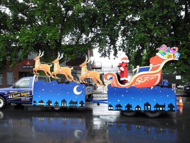 Launceston Christmas Parade