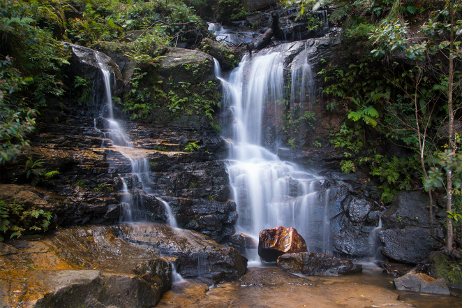 Lodore Falls, Valley of the Water, Blue Mountains, photography