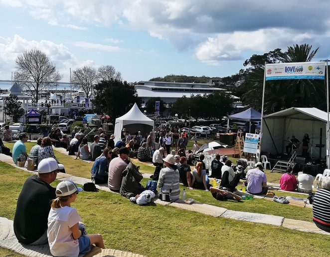 love sea food festival, port stephens, nelson bay, events, free, events, live music, things to do, whats on, festivals, NSW,