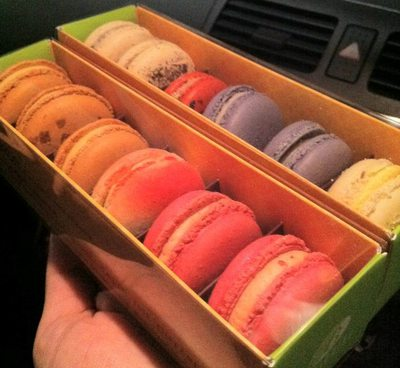 macarons, variety, colourful, delicious
