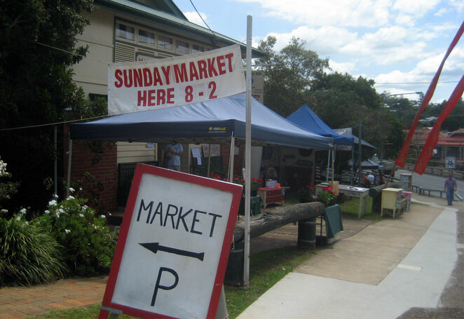 Maleny Markets is worth visiting if you are in the area on a Sunday
