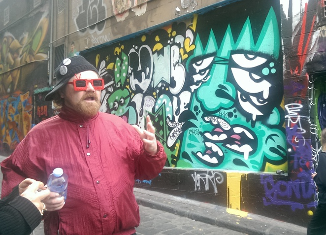 Melbourne Street Art Tour Guide