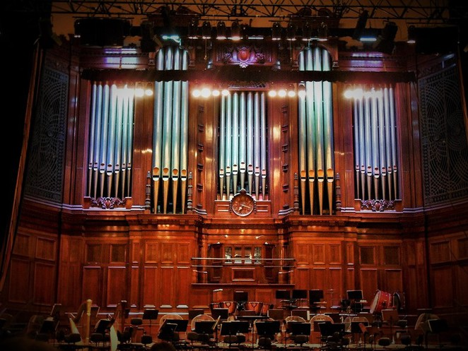 Melbourne town hall grand organ