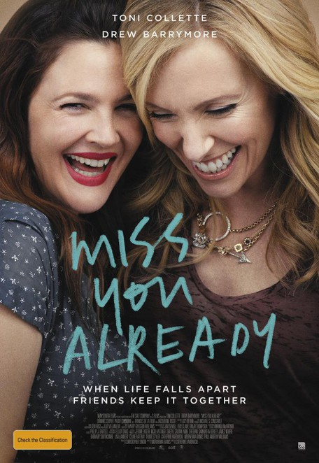 miss you already, film review, movie review, drew barrymore, toni collette, dominic cooper, paddy considine, tyson ritter, jacqueline bisset, film actors, cinema