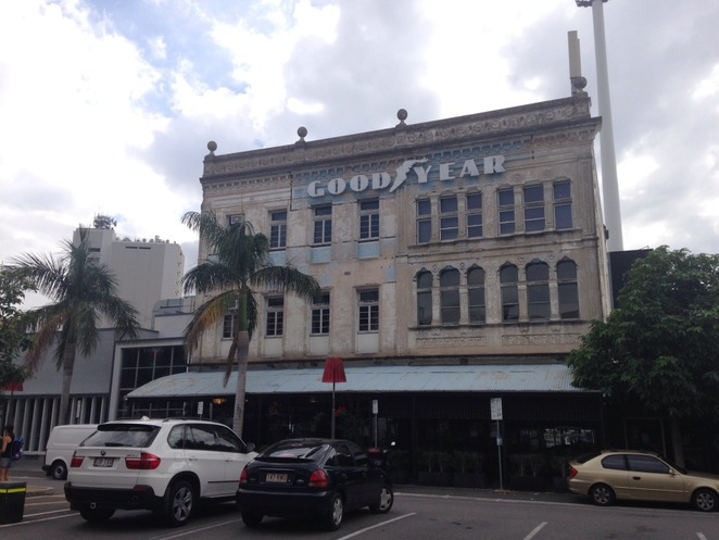 The Moreton Rubber building is a three storey 'old dame' of Brisbane architecture with a cavernous underground cellar used by restaurants for function rooms