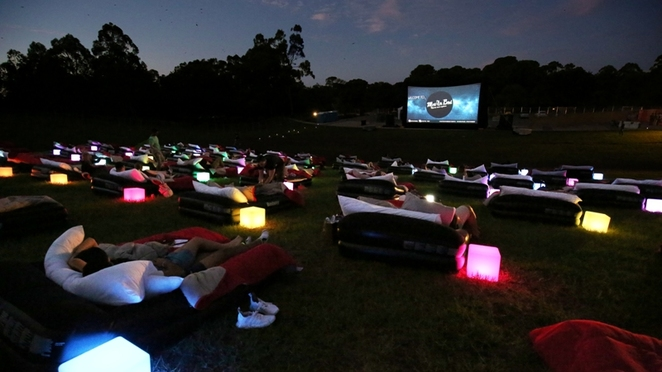 Mov'In Bed, Mov'In Bed Open Air Cinema,