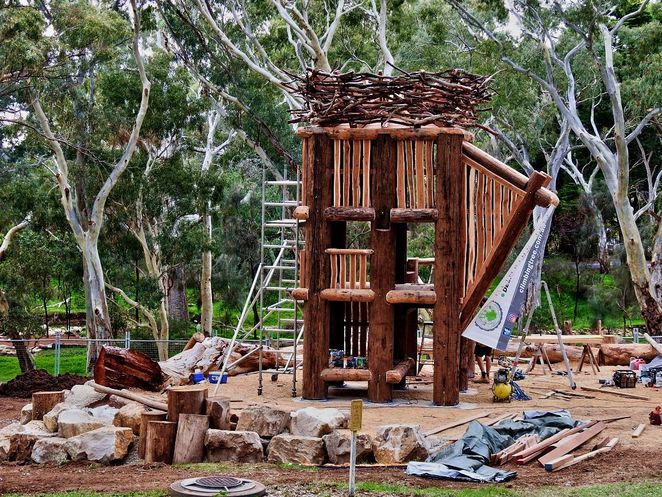 Nature Play Playgrounds, best Nature Play Playgrounds, nature play, playgrounds, nature playgrounds, adelaide, play equipment, sandpit, fun for kids, morialta conservation park playground