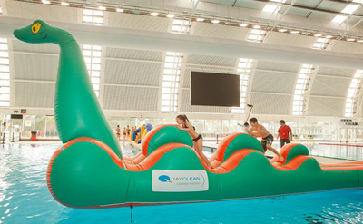 nessie, sa aquatic centre, school holiday program, fun for kids