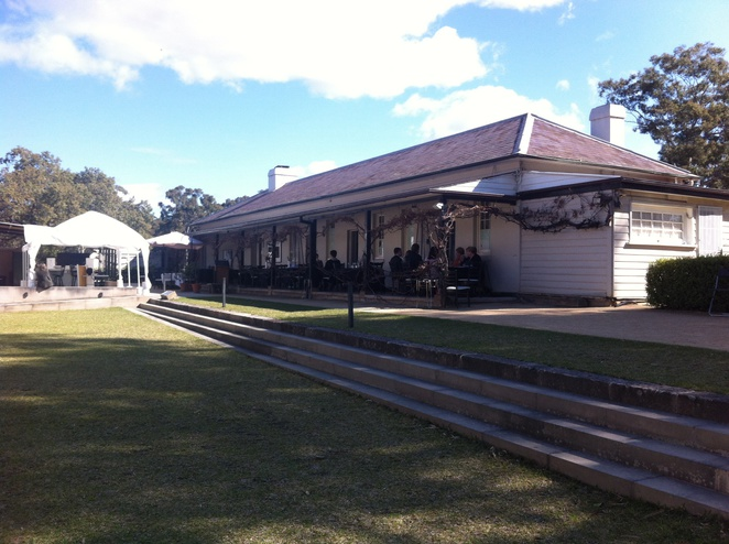 Old government house parramatta - cafe