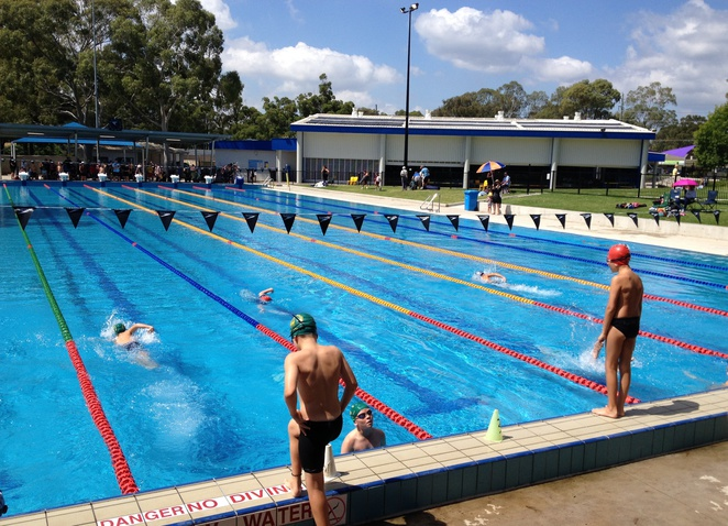 Olympic Pools Sydney Macquarie Fields