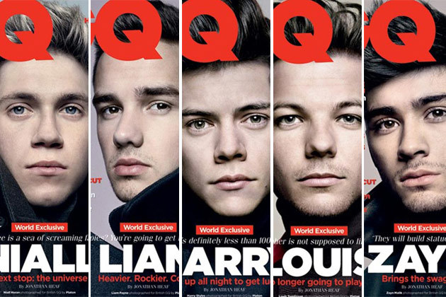 one direction, 1D, GQ, music, boy band, pop