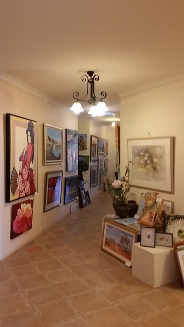 original artwork on display is for sale for home office or for gifts